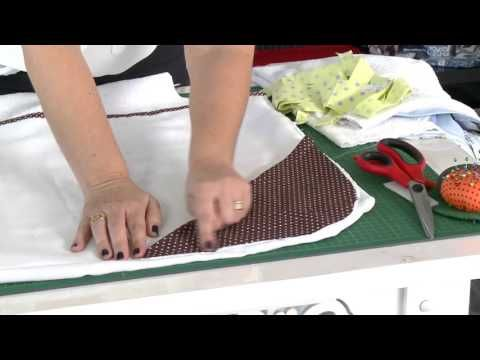 Mulher.com - 21/09/2015 - Avental toalha bebê - Ivonete Deblassi - YouTube