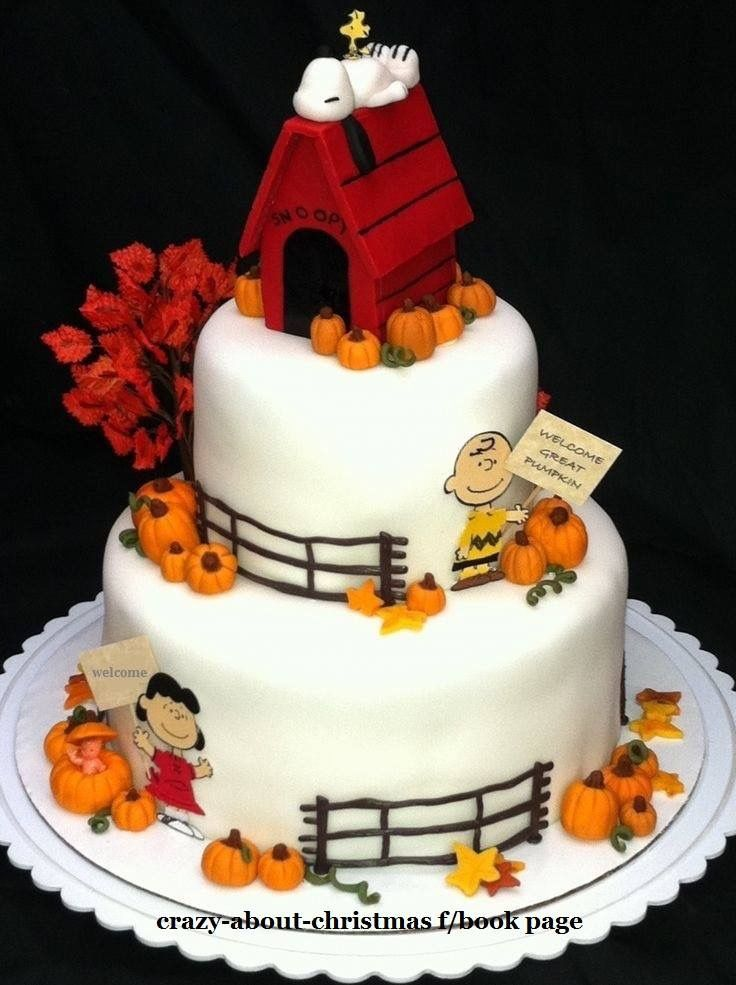 Peanuts: The Great Pumpkin Cake