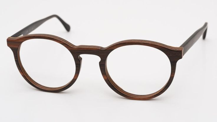 Holzbrille 1529FS col. 60 48-21 by Erik Lauer