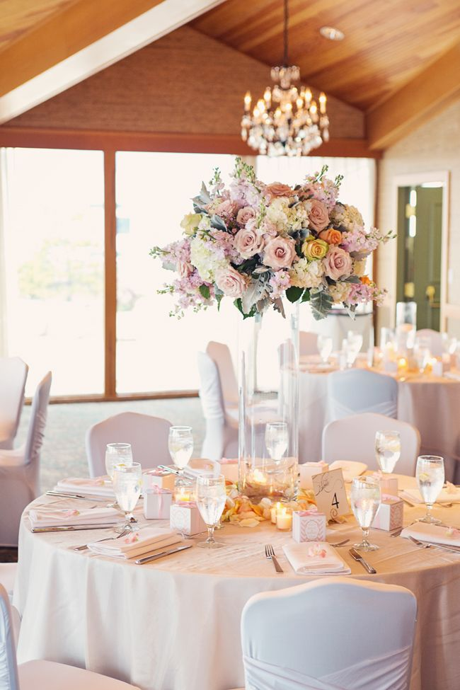 Pink And Ivory Wedding Table Setting Alante Photography