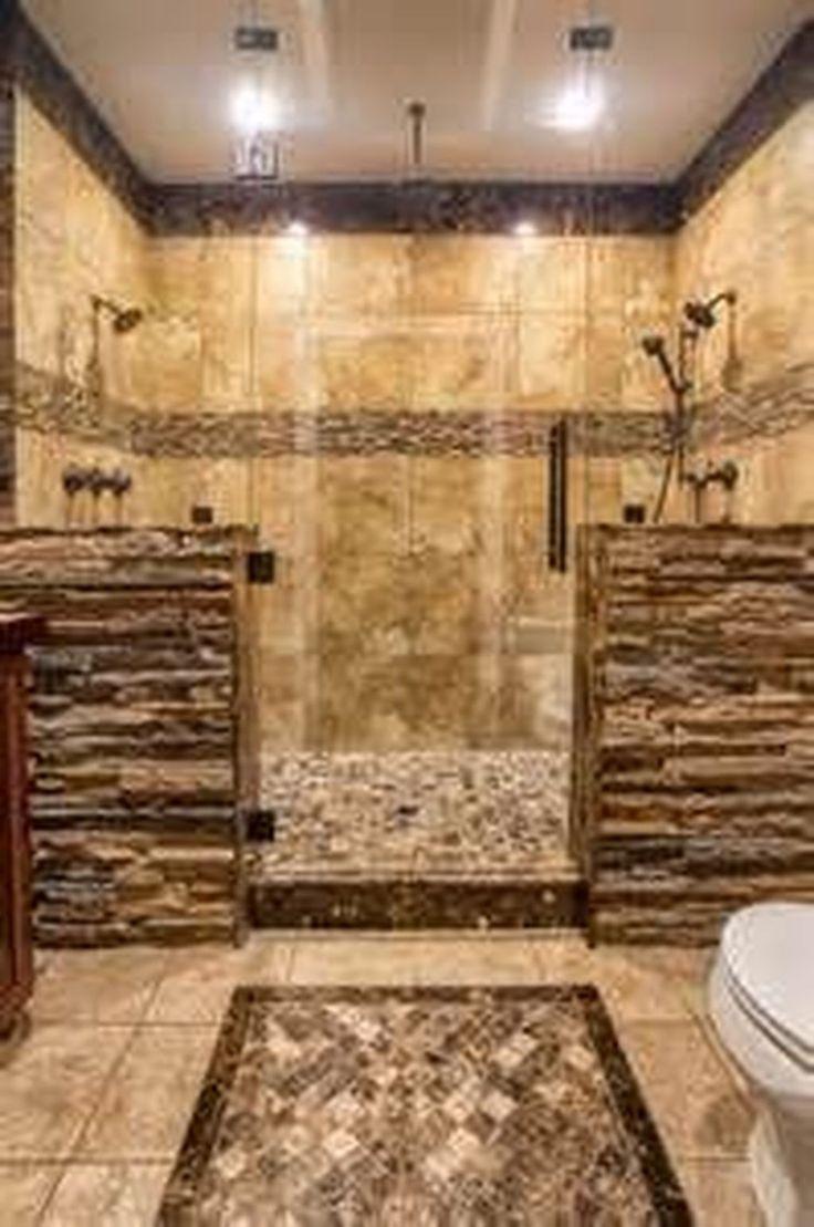 49 Luxurious Tile Shower Design Ideas For Your Bathroom