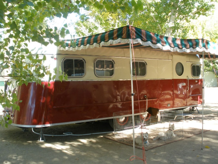 "1951 Rare ""M Systems"" Vintage Travel Trailer in RVs & Campers 
