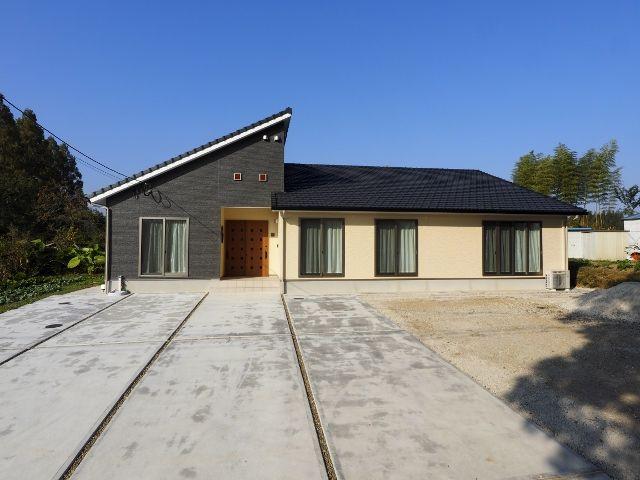 43坪 和モダンの平屋 大分安くていい家 Com 創建 和モダンな家