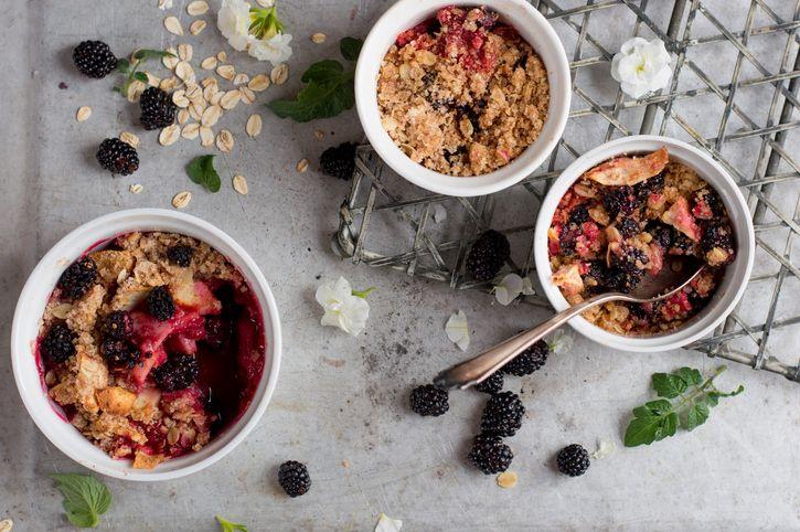 Grain-Free Fruit Crumble Recipe