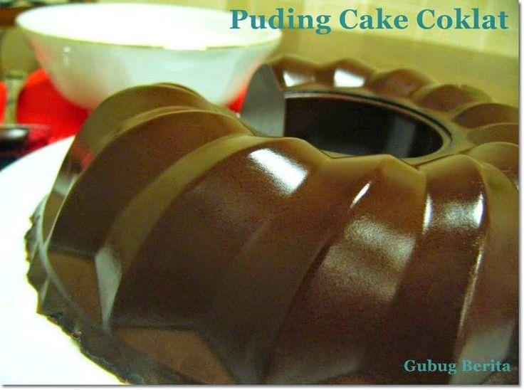 Resep Puding Cake Coklat