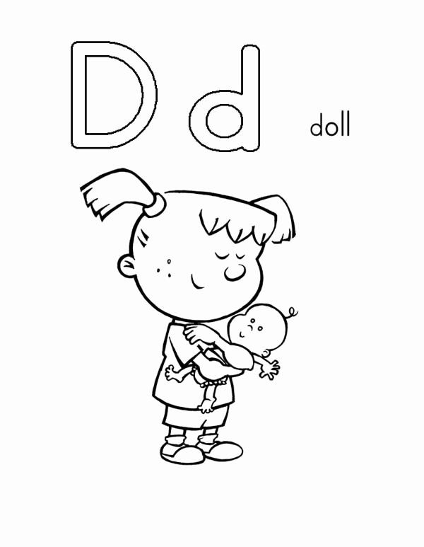 The Letter D Coloring Page New Letter D Coloring Sheets Realistic Geography Blog Alphabet Coloring Pages Cute Coloring Pages Letter A Coloring Pages