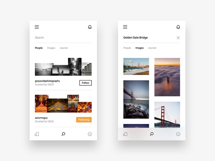 Hey guys! Today I am showing you the search UI of the VSCO app redesign that I'm working on. I'm really digging the way VSCO designed their search UI, which is surprisingly the only thing in my op...