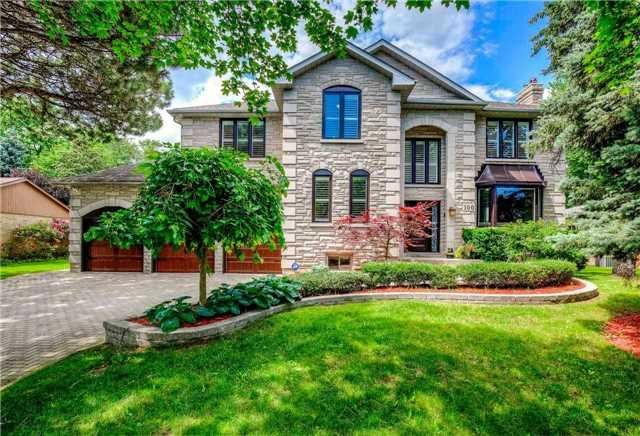 *Great Location* Steps To Park, Schools&All Other Amenities* Glorious Stone Exterior, Triple Car Garage W/ Interlock Driveway W/ Attractive Landscape* Over 6,000 Sq. Ft. Of Exquisite Entertaining Living Space W/10 Ft. Ceiling&4 Skylites*Executive 5+2 Brs W/75 Ft. Frontage*Newly Furnished Bsmt W/ Recreation, Home Theatre, Mini Wine Bar& 2 Extra Brs*Top Class Gourmet Custom Kitchen W/ Large Centre Island/Breakfast Bar&Granite Counters* O/L Ingd Swim. Pool