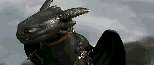 picture of how to train your dragon 1 and 2 GIF | ... toothless___how_to_train_your_dragon_2__gif_by_thegrzebol-d6yr9vm.gif