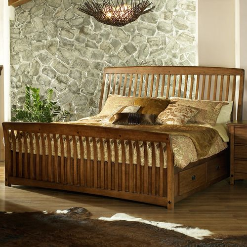 storage bed frames and headboards   ... Storage Bed by Somerton   Wooden Storage Headboard Footboard Bed Frame
