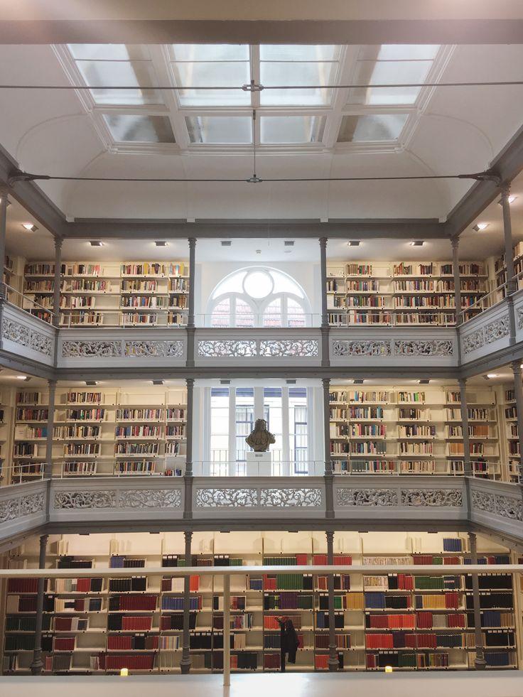 University library in Utrecht, the Netherlands.