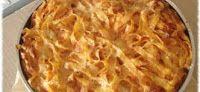 quelle piccole pesti: Pappardelle gratinate: le ricette di nonna Angelin...