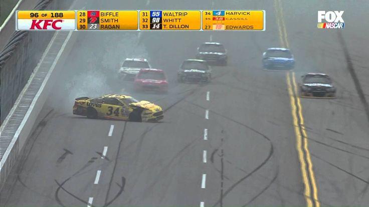 NASCAR @ Talladega Big One (Chris Buescher Flip) - May 2016
