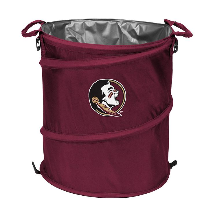 Florida State Seminoles Trash Can Cooler *** Unbelievable outdoor item right here! : Camping equipment