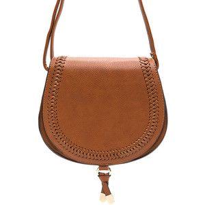 Boho Princess Braided Saddle Bag