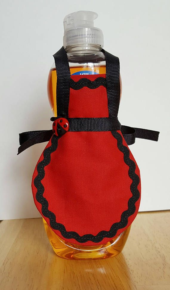 Check out this item in my Etsy shop https://www.etsy.com/listing/546983107/dish-soap-apron-ladybug-decor-soap