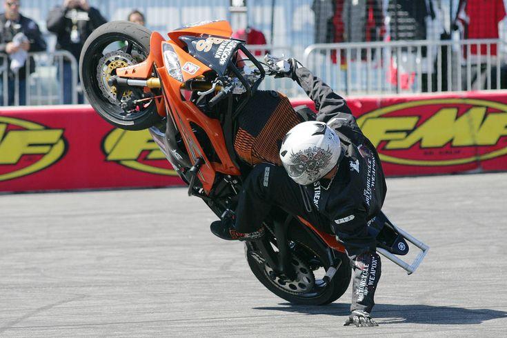 Daytona bike week stunt show