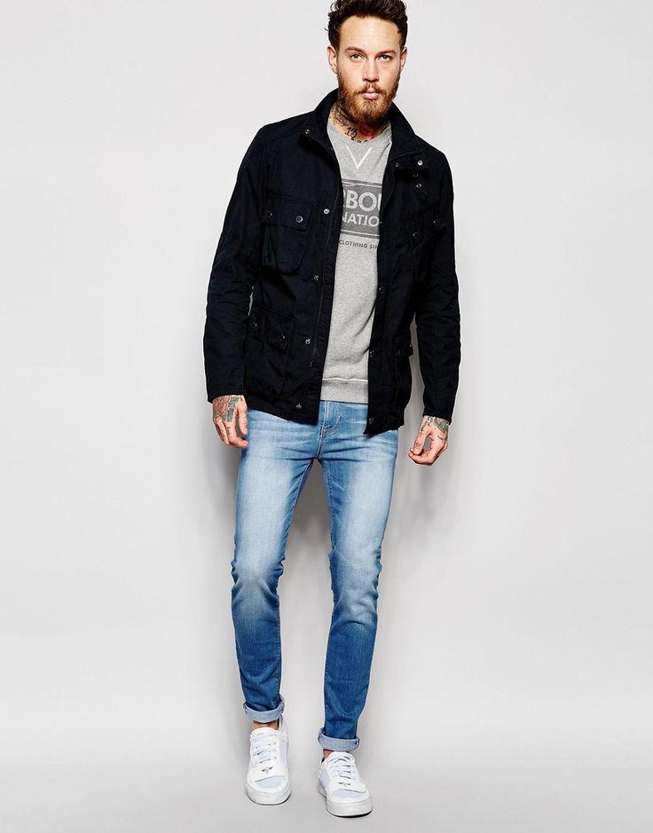 Image 4 ofBarbour International Jacket in Cotton
