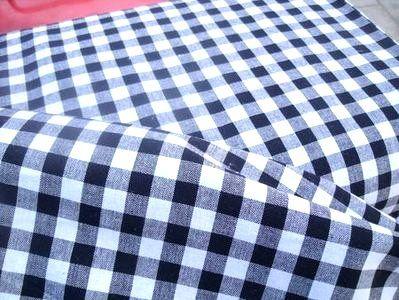 NB 5635-069 Boerenbont ruit zwart 1 cm