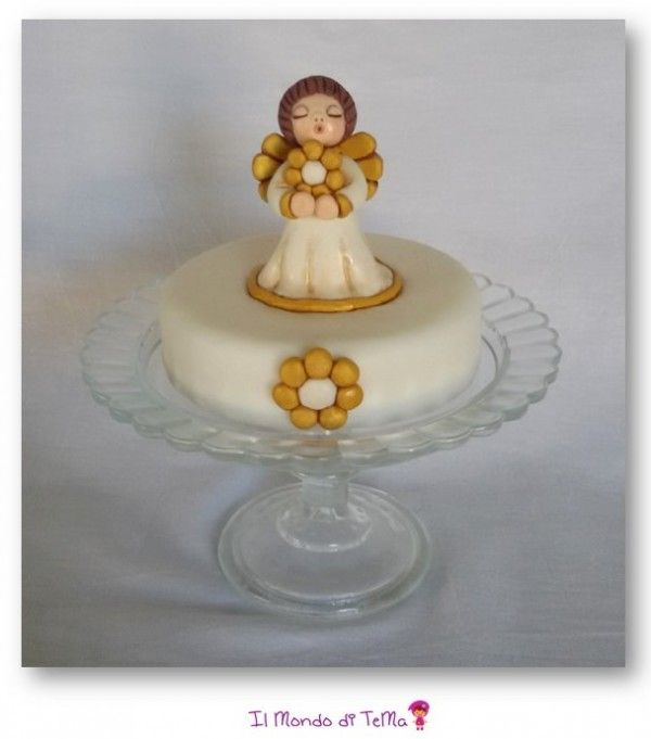 Come fare angioletto Thun in pasta di zucchero #tutorial #cakedesign #handmade
