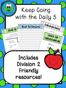 Refresh and Review your Daily 5 routines with: - I charts designed to appeal to older students - Stamina charts up to 25 minutes - Individual sized I charts to add to Readers and Writers Notebooks including blank I charts for students to fill in themselves - Conferring and small group planning and note taking pages - Strategy pages for
