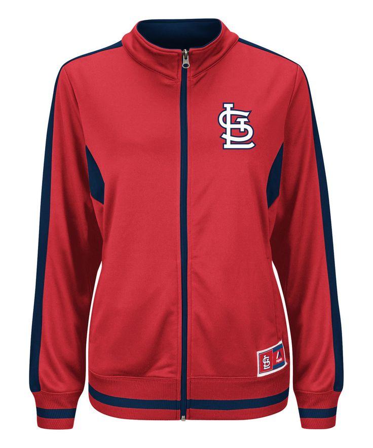 St. Louis Cardinals Scoring Track Jacket - Plus by Profile Apparel #zulily #zulilyfinds