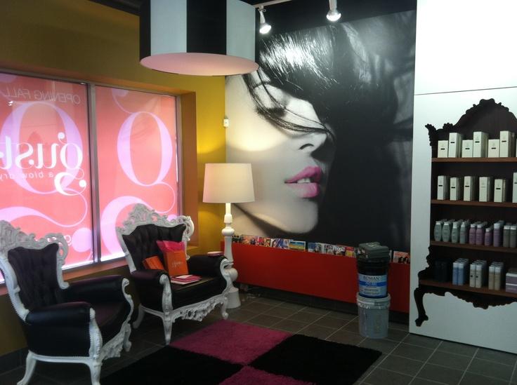 hair salon-client supplied graphics