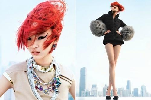 and this hair! *.*: Kiki Kang, Fashion Media, Asian Models, Calcarri Editorial, Kang Supreme, Models Blog, Blog Documents, Fashion Editorial, Figaro China