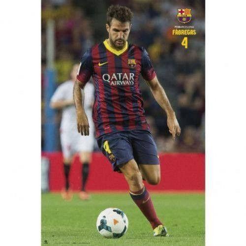 Cesc Fabregas FC Barcelona poster Barca new Grupo Erik Spain La Liga