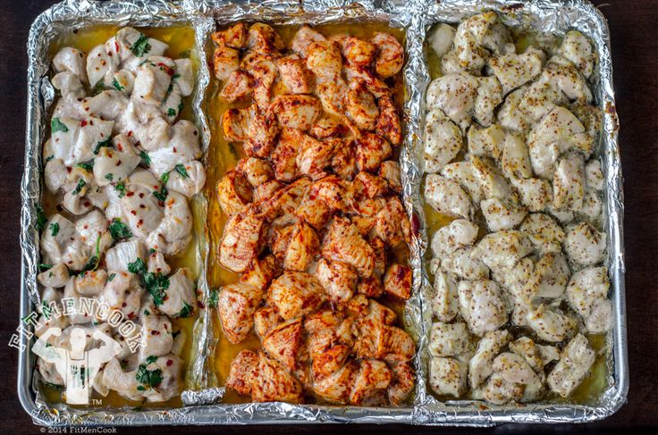Silly easy, chicken prep--from Fit Men Cook.