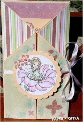 Le Tre Pazze PAPERine: GATE FOLD CARD