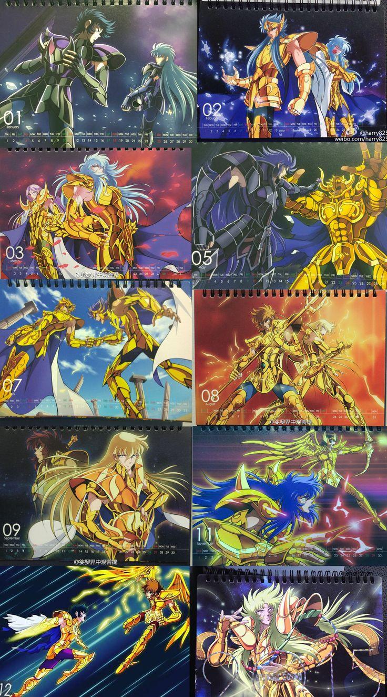 Gold Saints Calendário