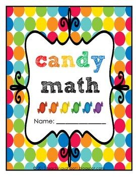 I created this fun candy math packet as an educational activity to do with my 1st graders any time of the year. I made it so that it can be used with any kind of round candy that comes in 6 colors (i.e. M&Ms, gum balls, Skittles, etc.) The packet includes worksheets for