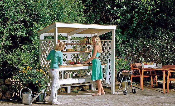Outdoorküche Garten Yoga : 34 besten gartenküche bilder auf pinterest wiederverwertung aus