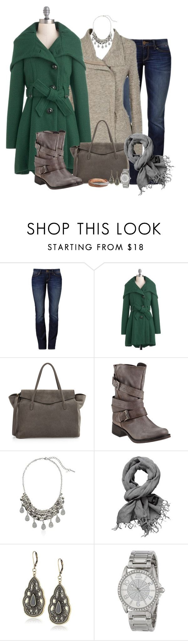 """""""Steve Madden boots"""" by elizabethdawes ❤ liked on Polyvore featuring Mavi, Steve Madden, Tom Ford and Scotch & Soda"""