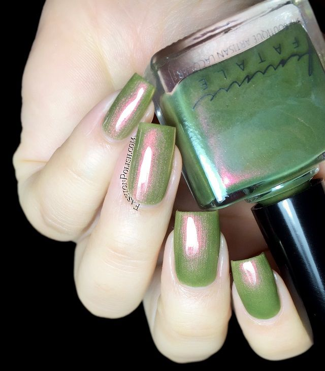 Fashion Polish: Femme Fatale The Mad Tea-Party Collection swatches and review
