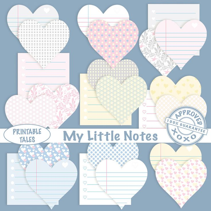 Clipart Labels   Digital Sticky Note   Post it Notes   Lined Memo Hearts   Cute Reminders   School Office   Commercial Use Included by PrintableTales on Etsy https://www.etsy.com/listing/272831936/clipart-labels-digital-sticky-note-post