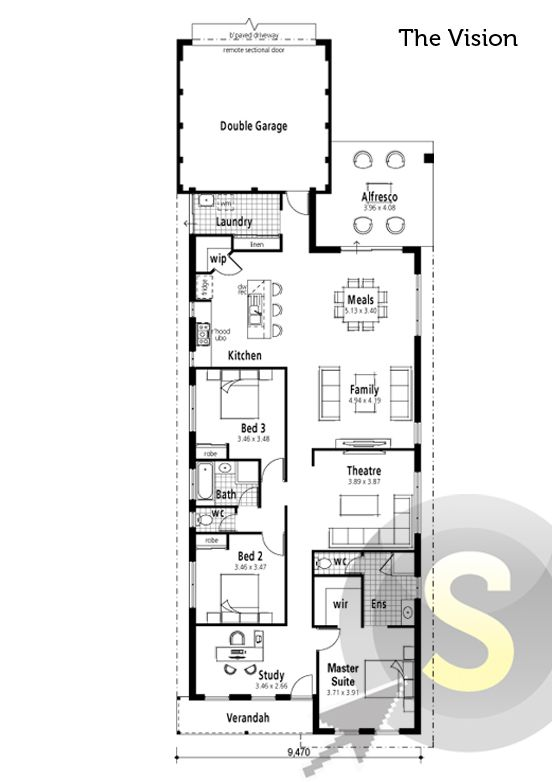 52 best images about smart home floorplans on pinterest for Completely open floor plans