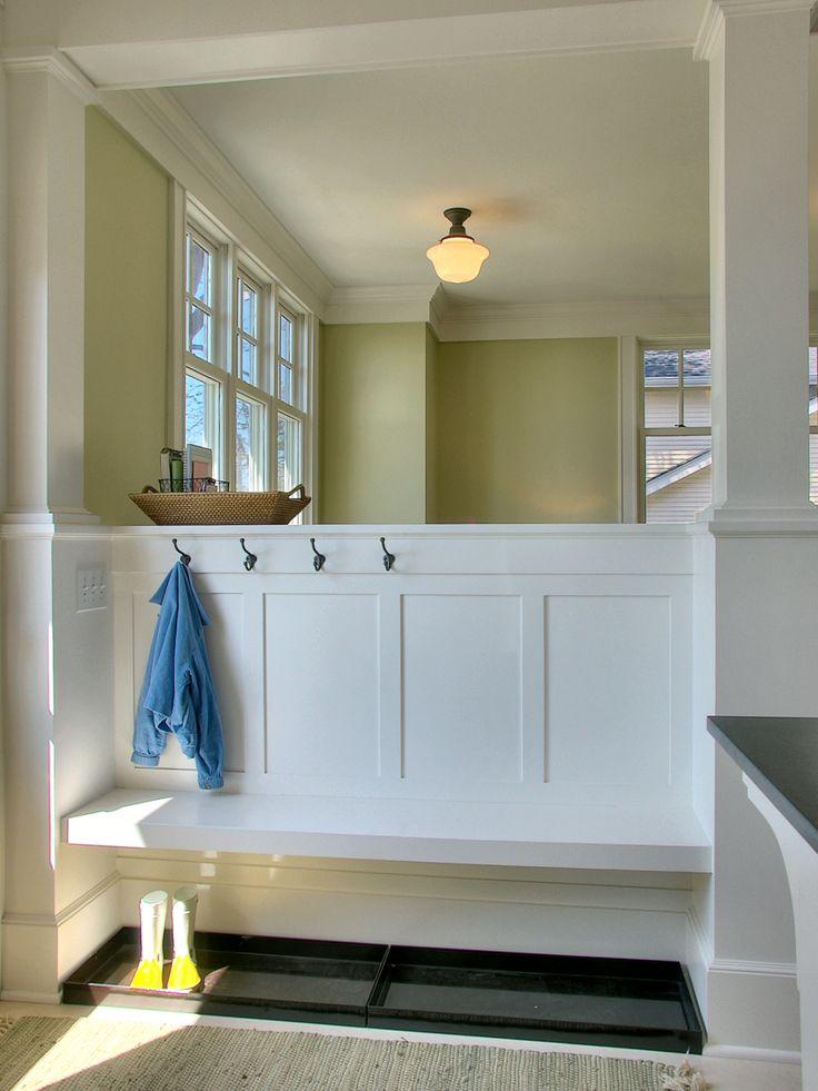 Foyer Hallway Zones : Best drop zones mud rooms images on pinterest