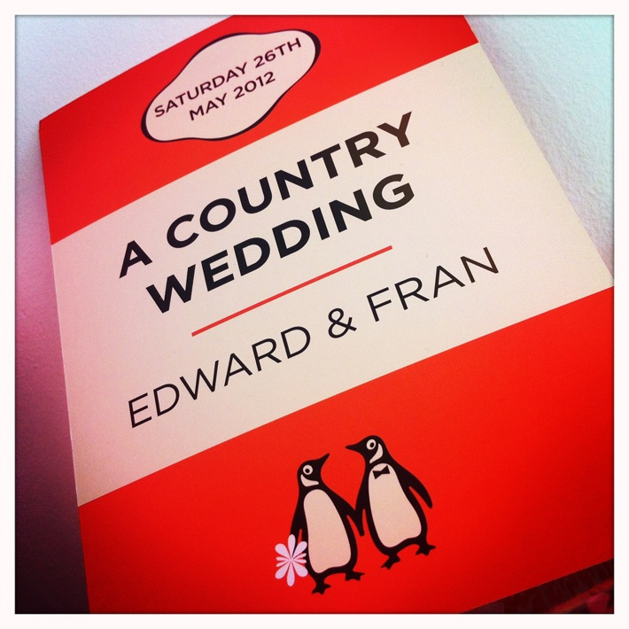 13 best penguin books wedding invitations images on Pinterest ...