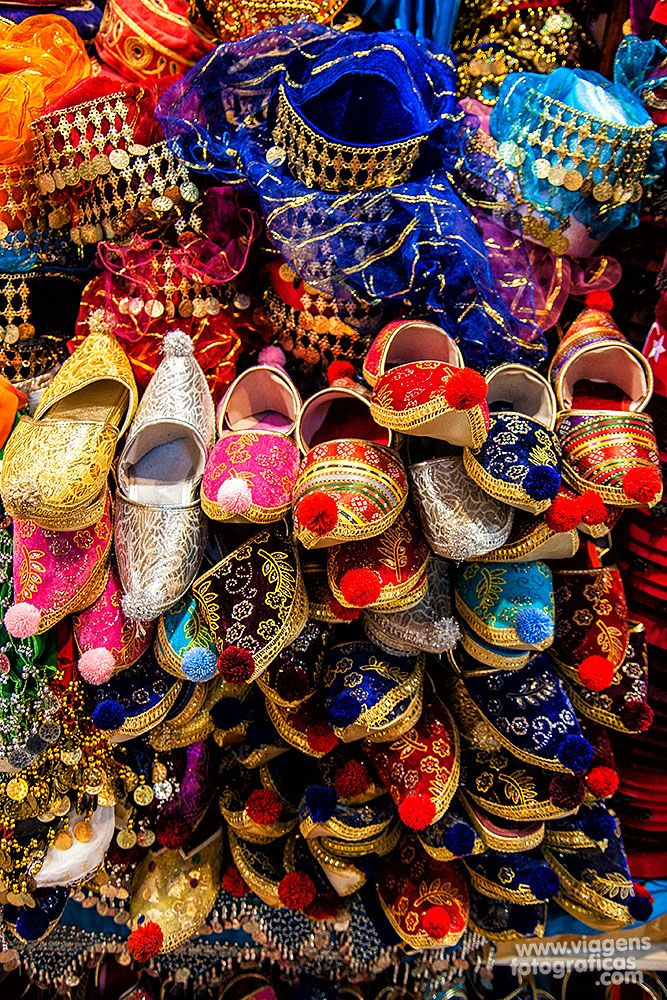 Souvenirs sold in the Grand Bazaar, in Istanbul, Turkey
