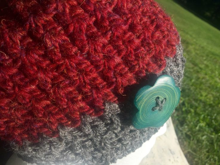 A personal favorite from my Etsy shop https://www.etsy.com/ca/listing/467748248/wool-raspberry-and-grey-hat