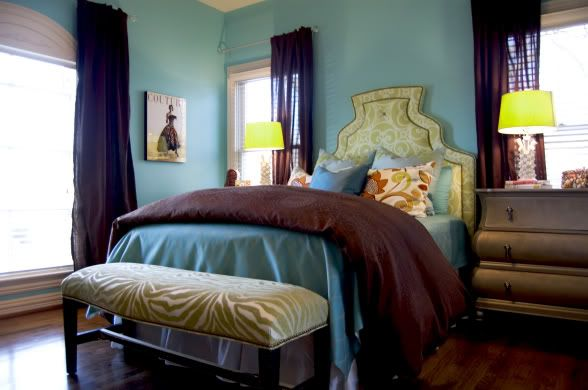 Teen girls room: Teen Girl Rooms, Teens Rooms, Green And Brown, Color Schemes, Blue Green, Teens Girls Rooms, Rooms Ideas, Green Rooms, Brown Rooms