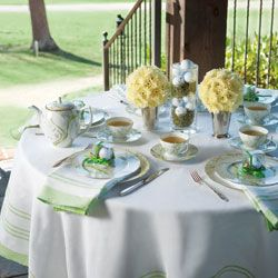 "Golf-inspired Tea :)  ""Tea Luncheon on the Links"""