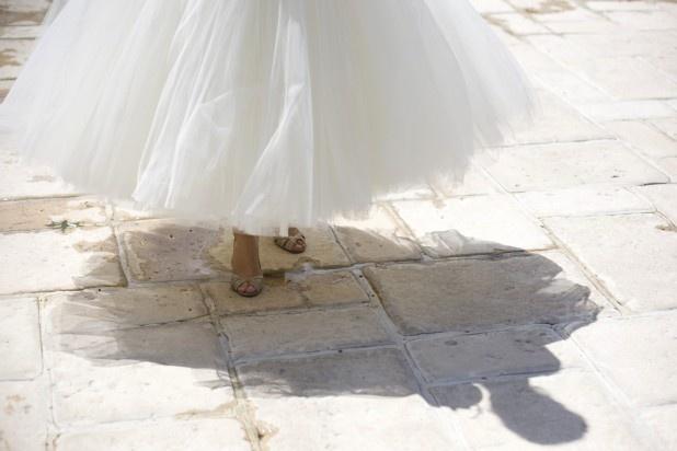 la robe bouffante tea lenght