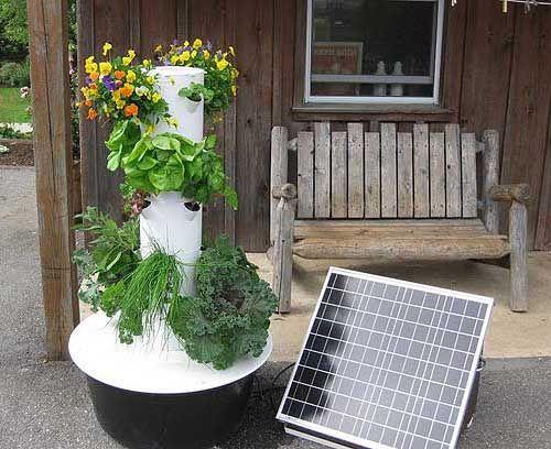 Gardening: What is a Tower Garden ?