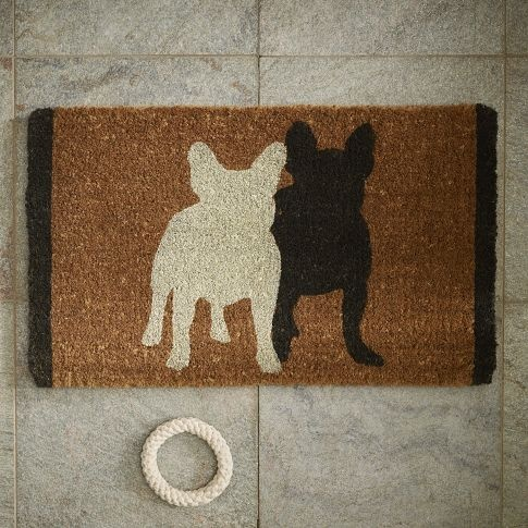 just bought this doormat...paying homage to the little sergeant!