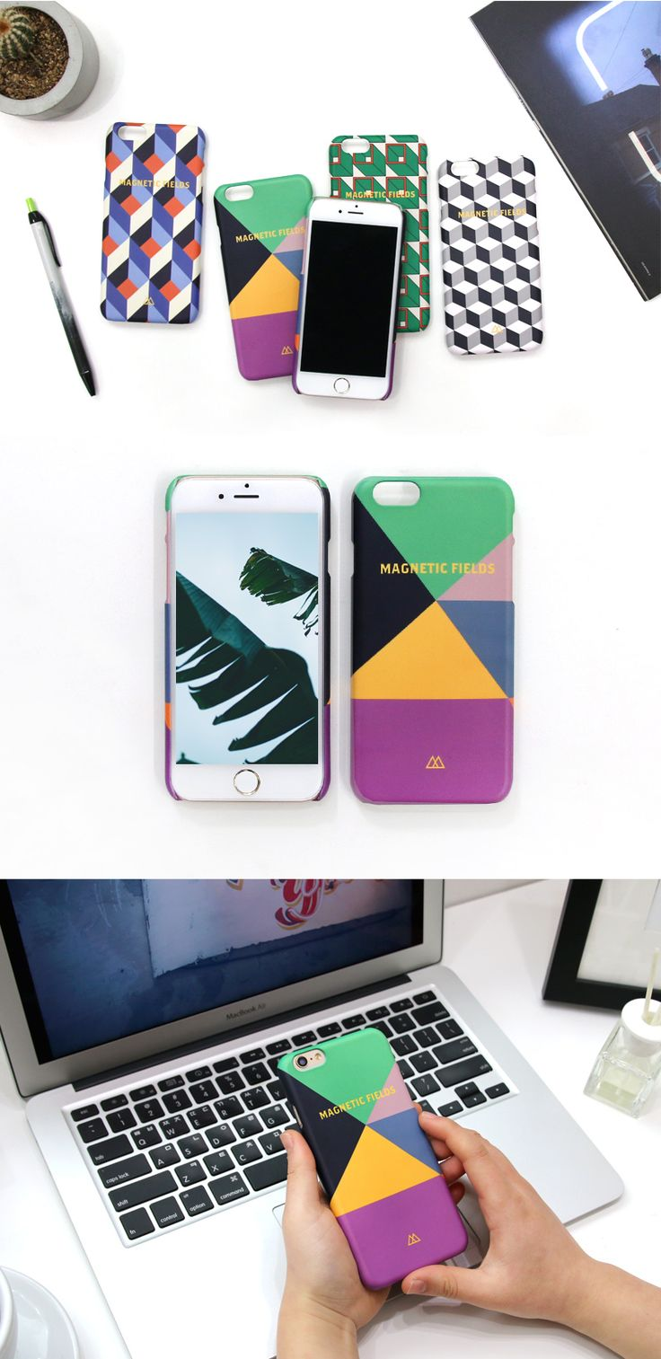 Slip your iPhone into this geometric optical illusion for extra protection & a treat for the eyes!