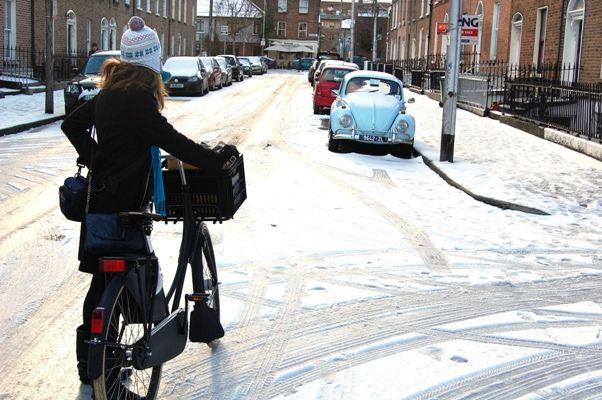 Dutch bicycle on Synge Street (2)