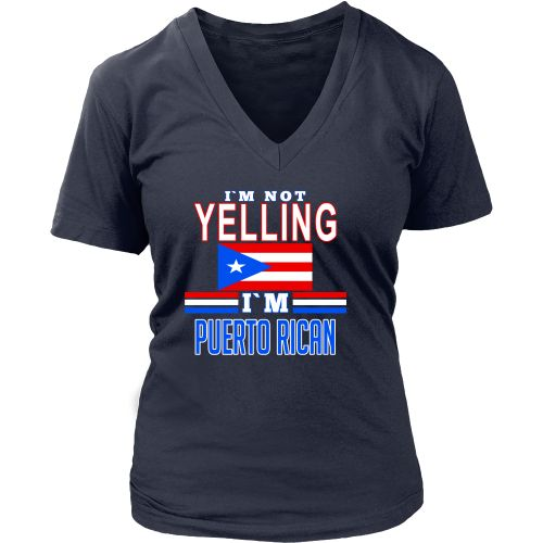 I'm not yelling I'm Puerto Rican T-shirt
